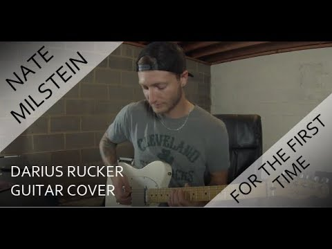 Darius Rucker - For The First Time (Guitar Cover)