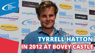 Tyrrell Hatton WINS FIRST tour title at Bovey Castle 2012