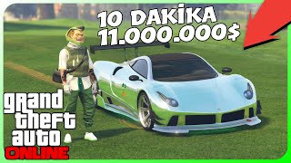 GTA Online - 10 Dakikada 11.000.000$ Araba Kopyalama (PS4/XB1)