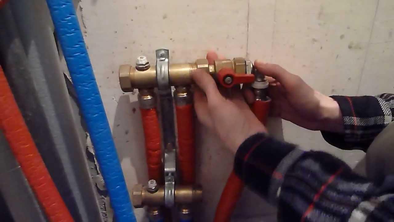 Пресс для соединения труб из сшитого полиэтилена