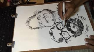 Birthday WISH with caricature . Asim Chandro Roy