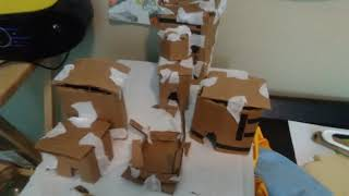 I make polar peak out of cardboard fortnite