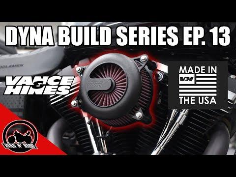 Harley Dyna Build Series Ep. 13 - Vance & Hines VO2 Rogue Air Intake