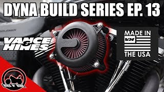 Harley Dyna Build Series Ep. 13 - Vance & Hines VO2 Rogue Air Intake