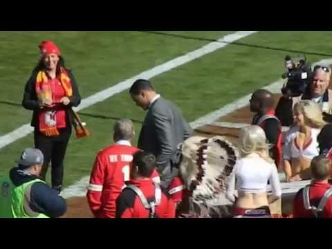 Tony Gonzalez Returns to Arrowhead