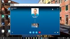 Windows 10 - Skype für Videotelefonate