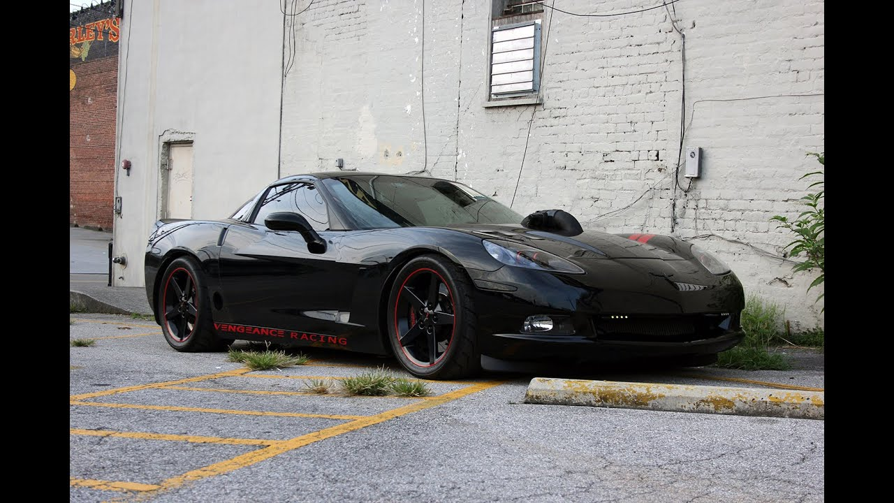 SinisTTer C6: 2007 Corvette C6 Vengeance Racing 1800 HP - YouTube