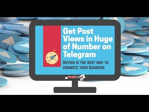 Get the Additional Help by Getting Telegram Views
