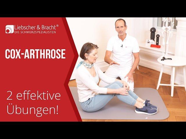 Coxarthrose/Hüftarthrose | 2 effektive Übungen | Faszien-Rollmassage