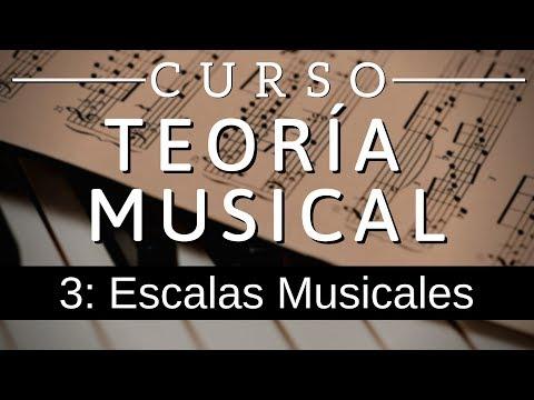 Teoria Musical 3: Escalas Musicales (Tipos y reglas para construirlas o identificarlas)