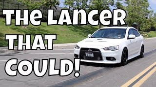 Mitsubishi Lancer Ralliart Review! - The Lancer that Could!