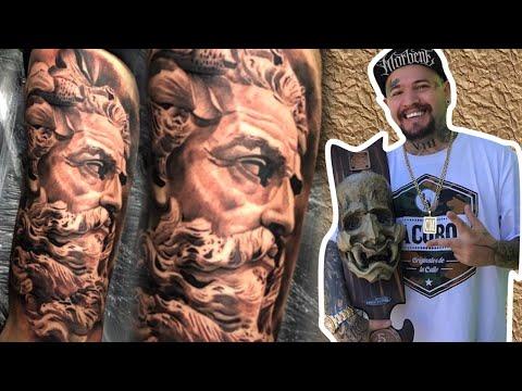 Tatuaje Neptuno Atletico De Madrid Mp4 Doovi