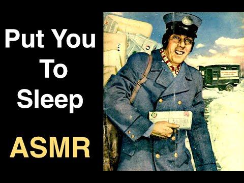 Shopping the 1942 Way - Natural Sleep ASMR
