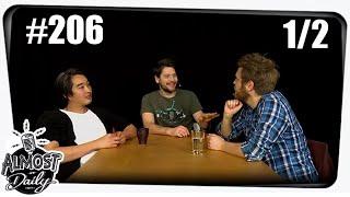 [1/2] Almost Daily #206 | Wenn ich 150m groß wäre mit Simon, Nils und Budi | 07.11.2015