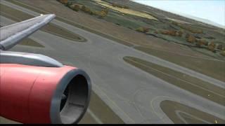 [HD] Air Berlin 757-200 takeoff from Vienna (FS2004)