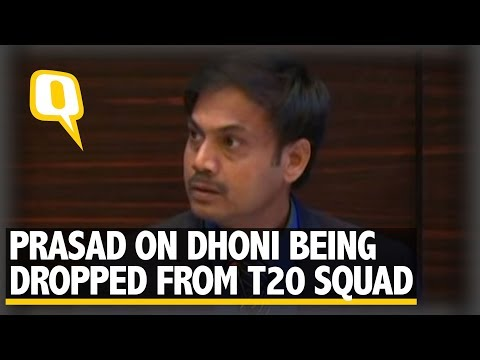MS Dhoni Dropped from T20 Teams for WI and Australia Series | The Quint