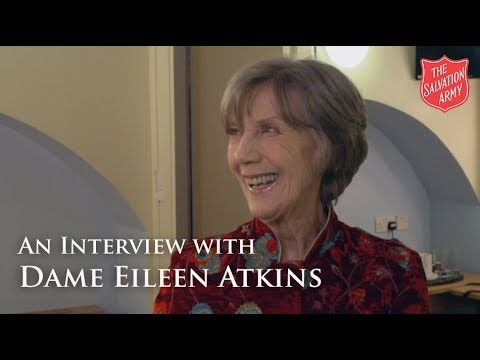 An  with Dame Eileen Atkins  The Salvation Army