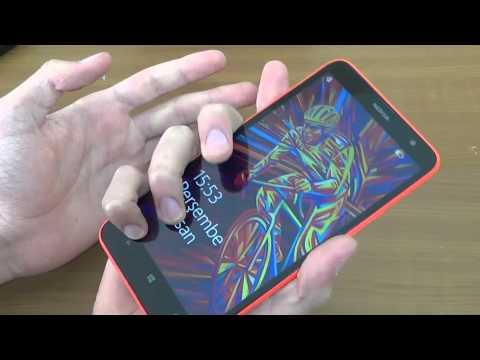 Nokia Lumia 1320 Kutu Açılımı (Unboxing)