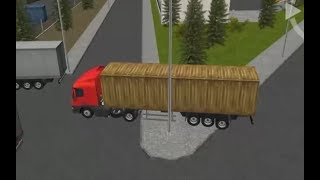 SEMI DRIVER 3D TRAILER PARKING LEVEL 16-24 | TRUCK PARKING