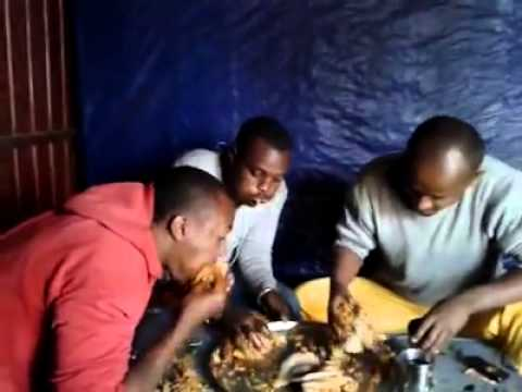 Funny Ethiopian Food Fight Competition 2014
