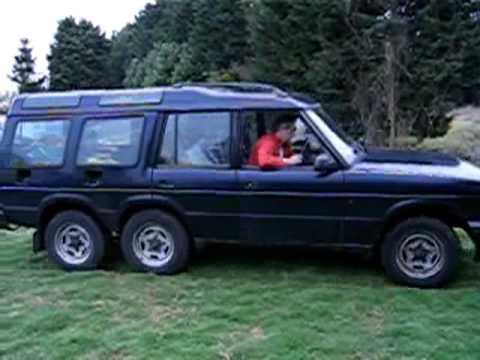 Six Wheel Land Rover Diff Lock Demonstration By Trevor
