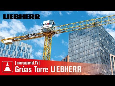 GRÚAS TORRE LIEBHERR 85 EC-B 5 FR.tronic - 5 tns - Montaje en Edificio | Mercado Vial TV