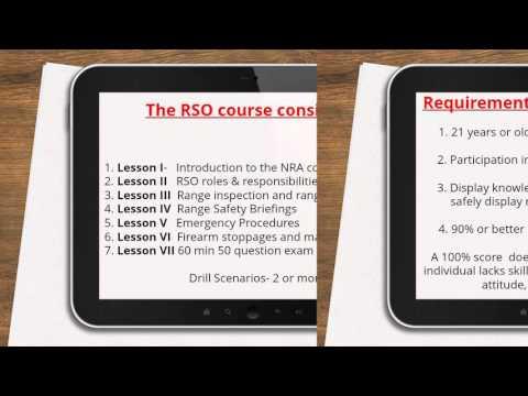 RSO CLASS OVERVIEW