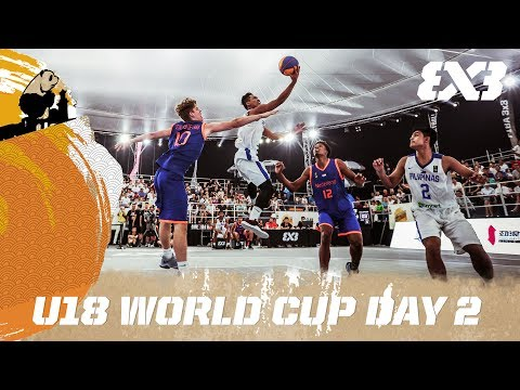 FIBA 3x3 U18 World Cup 2017 - Day 2 - Re-Live - Chengdu, China