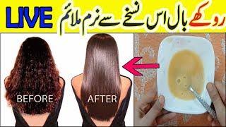 Damaged Hair Treatment Naturally At Home || Get Silky, Shiny and Smooth Hair