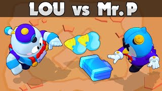 LOU vs MR P | 1vs1 | New Brawler | Brawl Stars