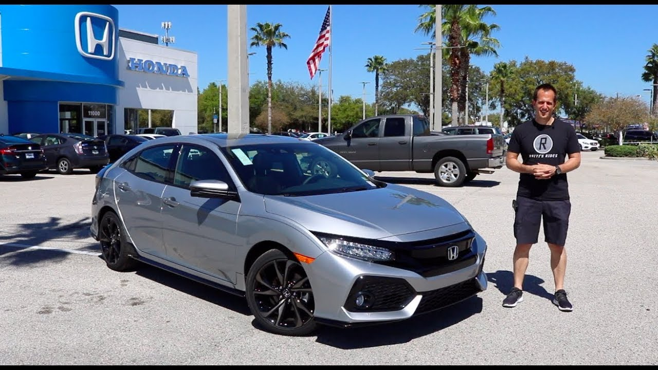 Is The 2019 Honda Civic Sport Touring Hatchback Like A Civic Si