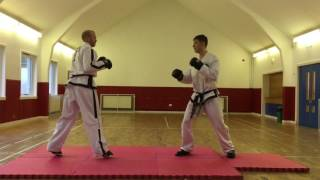 Taekwondo / Kickboxing Sparring Drills # 1