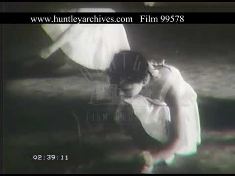 Ballet Lessons, 1960s - Film 99578