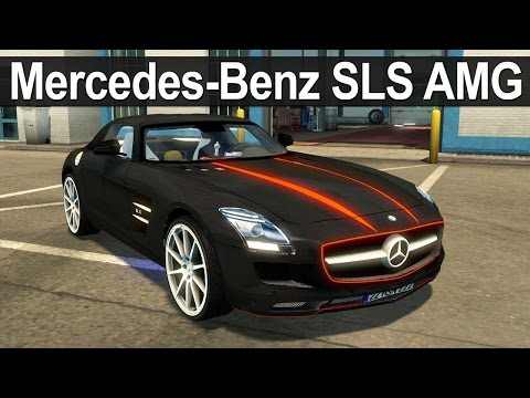 Euro Truck Simulator 2 - Animasyonlu Mercedes-Benz SLS AMG