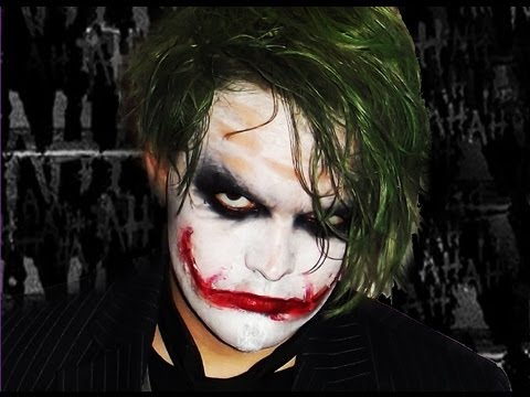 the joker dark knight makeup tutorial youtube. Black Bedroom Furniture Sets. Home Design Ideas