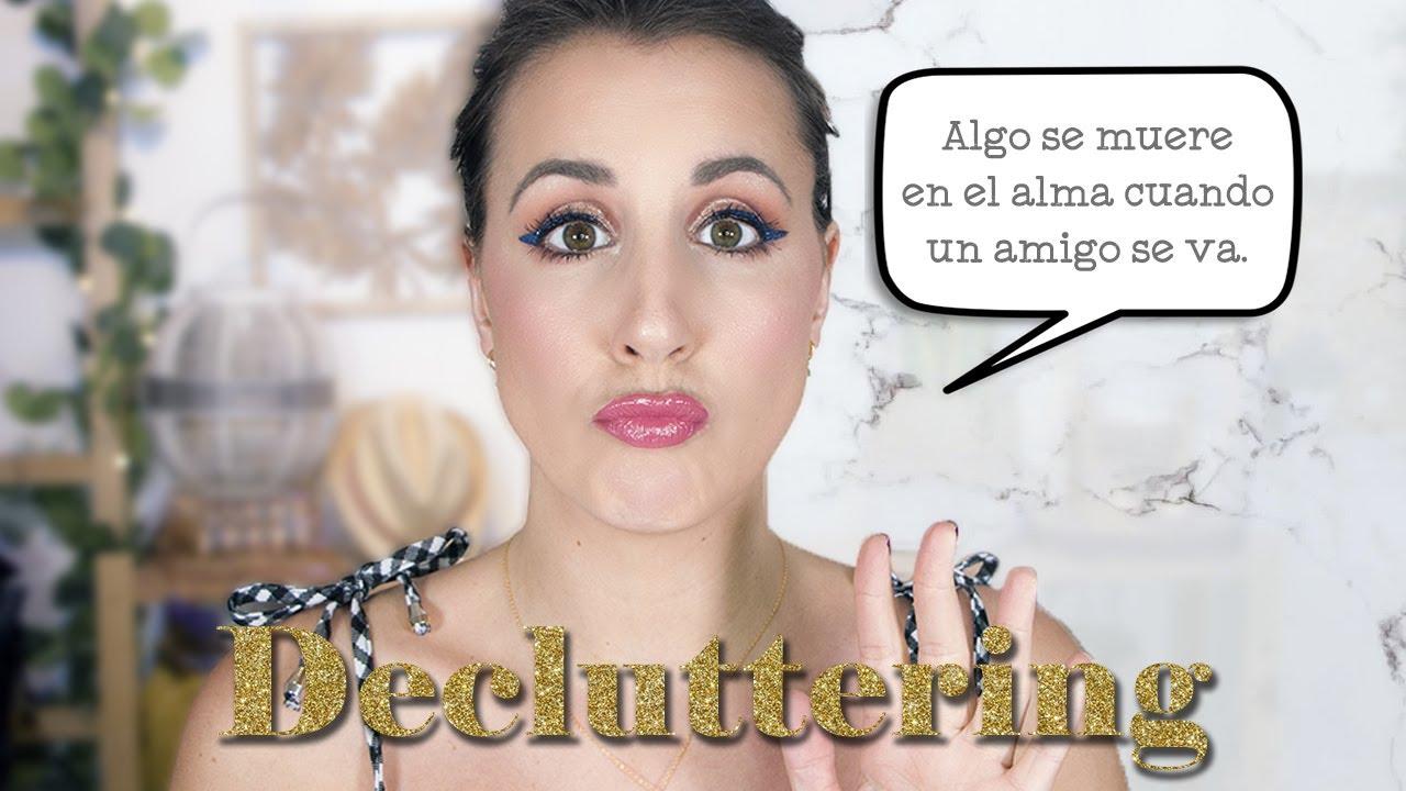 Limpieza de mi colección de maquillaje - Decluttering de 25 productos