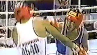 Бокс Костя Цзю-Леопольдо Кантанцио Олимпиада 1988— 60 кг