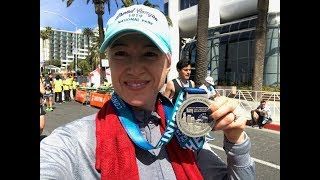 What I Ate On Weight Watchers Lifetime | Los Angeles Marathon 2018