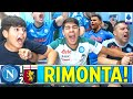 RIMONTA!! GRANDE PETAGNA! GENOA-NAPOLI 1-2 | LIVE REACTION NAPOLETANI