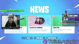 Fortnite Twitch Streamer zylTV (zyl) Raising Money For His Father With Cancer