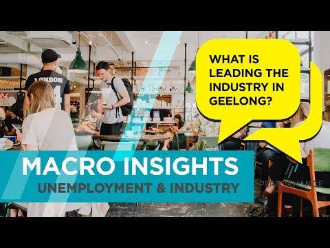 Macro Insight: Geelong - Unemployment & Industry