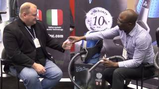 Sirena Water Vacuum Cleaner - Interview with ABC Vacuum Warehouse at the 2014 IHA Trade Show