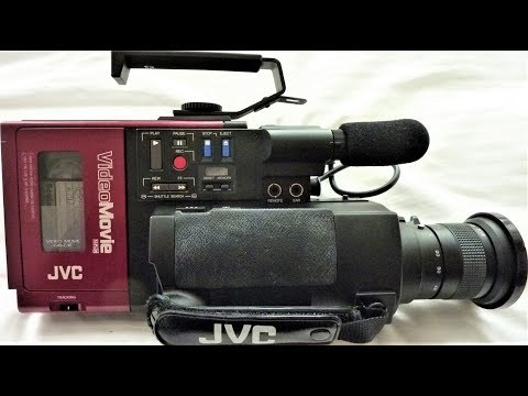 JVC GR-C1E 1984 VHS CAMCORDER REVIEW - BACK TO THE FUTURE VIDEO RECORDER