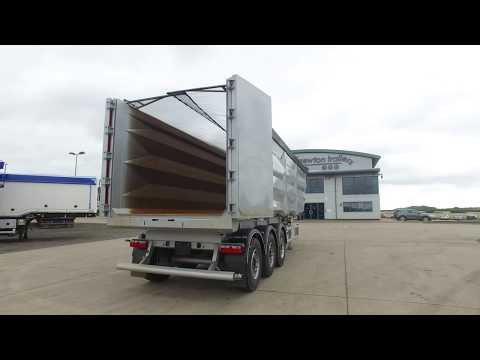 New 2017 75 cu yd Newton Steel Tipping Trailer for Sale
