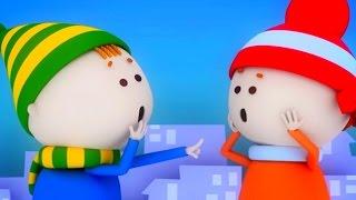 Аркадий Паровозов спешит на помощь - Почему опасно долго находиться на морозе - мультфильм детям