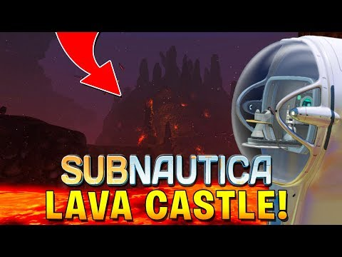 subnautica how to get to lava castle