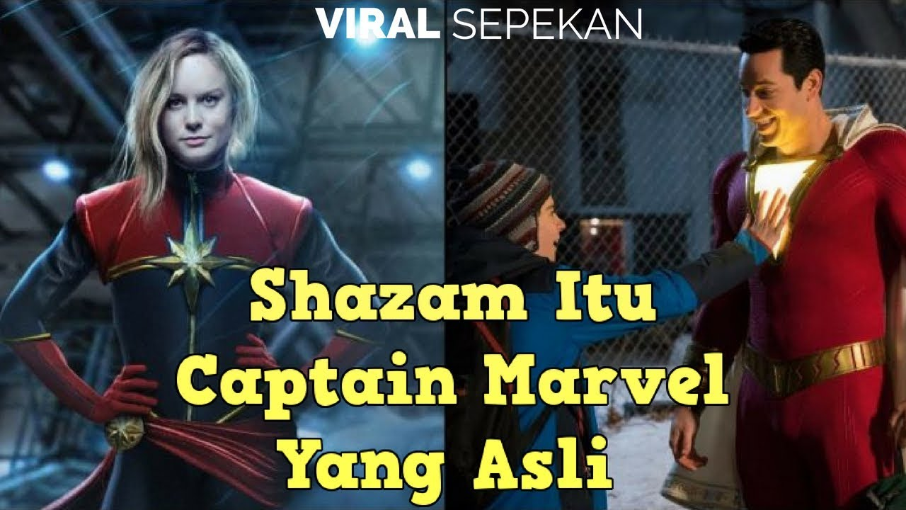 Download Perang Dingin DC dan Marvel Lahirkan Tokoh Shazam dan Captain Marvel