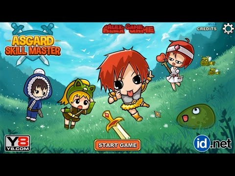 Asgard Skill Master Chapter 1-1 (1-10 Level Part 1) Flash RPG Games