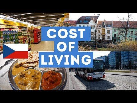 COST OF LIVING in CZECH Republic BRNO 2019 🇨🇿