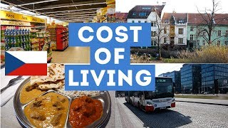 COST OF LIVING in CZECH Republic BRNO 2019 🇨🇿